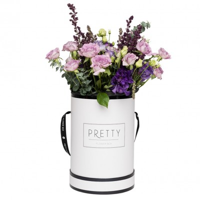 THE PRETTY WHITE & BLACK BOX – GARDEN STYLE