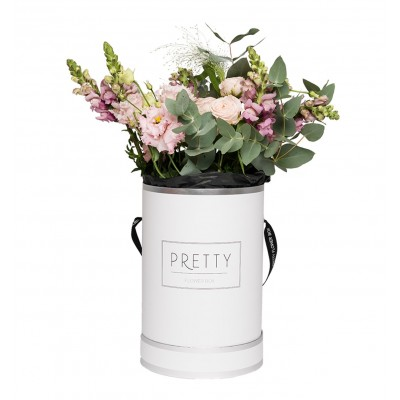 THE PRETTY WHITE & SILVER BOX – GARDEN STYLE